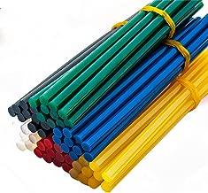 YEJI 60Pcs (6 Color) Hot Glue Sticks 0.27