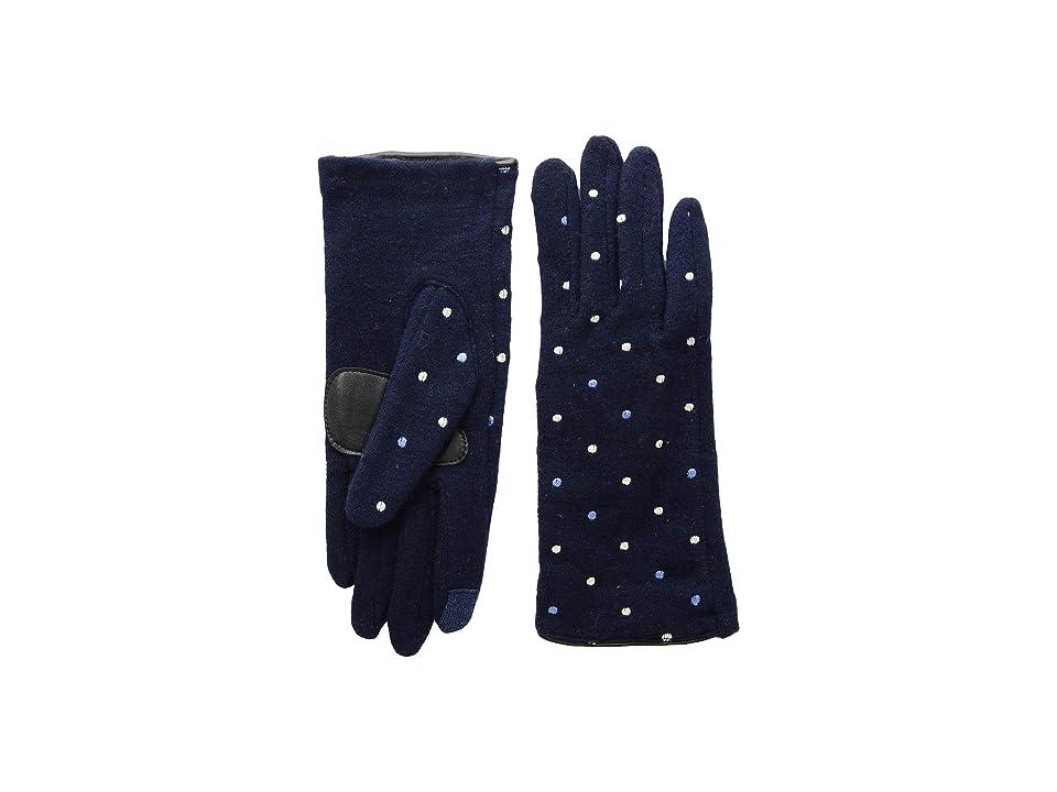 Echo Design Dot Dot Gloves (Echo Navy) Extreme Cold Weather Gloves