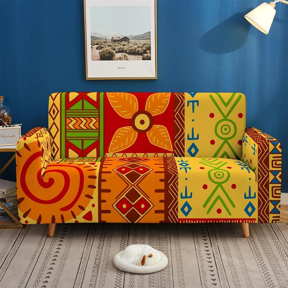 Furniture Many popular brands Covers Stretch Sofa Primiti Superior Slipcovers Vintage African