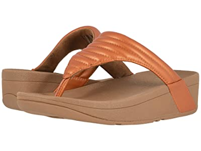 FitFlop Lottie Padded (Amber Ash/Chipmunk) Women