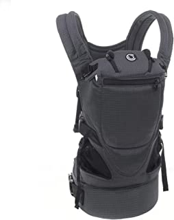 Contours Love 3-in-1 Child & Baby Carrier with 3 Seating Positions, Charcoal Gray