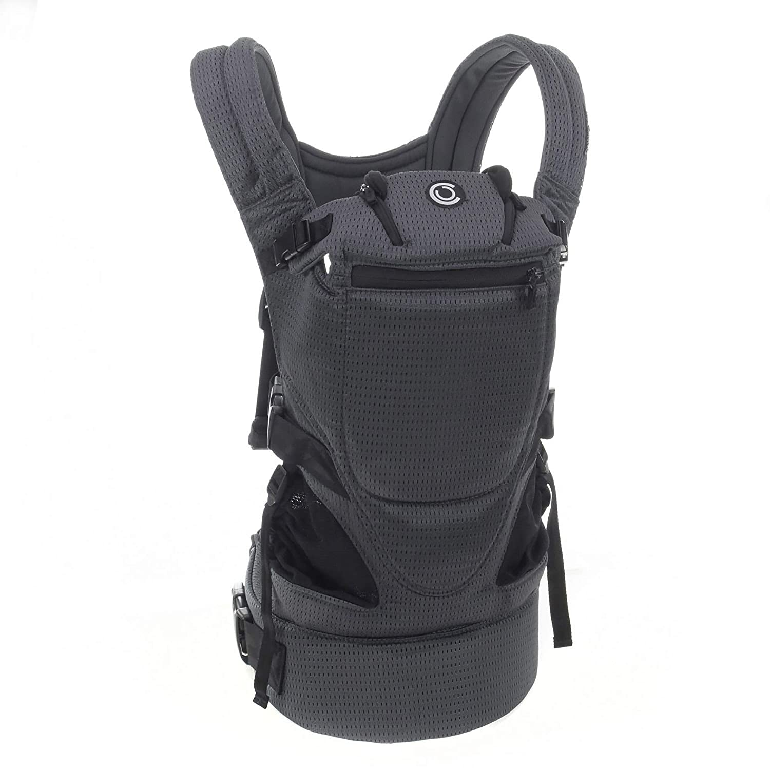 Contours Love 3 Position Baby Carrier, Charcoal Gray