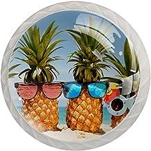 Lade handgrepen trekken ronde kristallen glazen kast knoppen keuken kast handvat,fruit in de zon