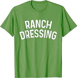 Ranch Dressing Costume T-Shirt Funny Halloween Shirt