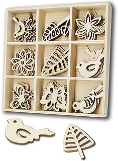 wooden bird cutouts