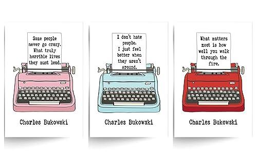 Zitate bukowski Charles Bukowski