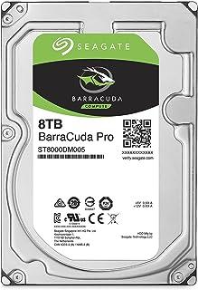 【Amazon.co.jp限定】Seagate 内蔵HDD Barracuda 3.5inch SATA 6Gb/s 8TB メーカー保証2年+1年 ST8000DM005/EWN (FFP)