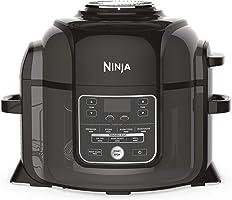 Ninja Foodi [OP300EU] Pentola a Pressione Multifunzione, Fornello Lento, Nero e Grigio