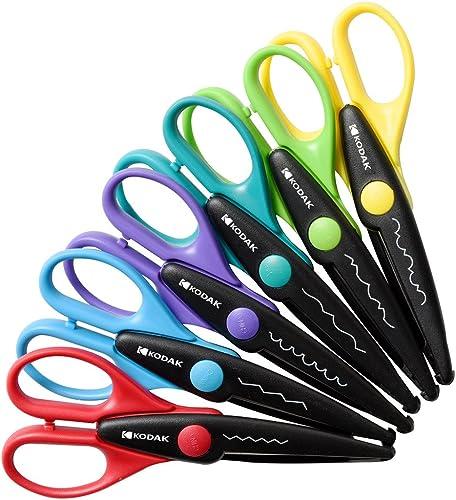 wholesale Kodak outlet online sale 6 Colorful 6 Decorative Edge wholesale Scissor Set for 2x3 Photo Paper sale