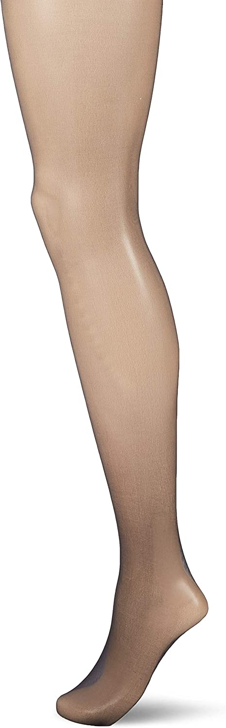 HUE womens Sheer Tights With Grippers