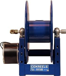 Coxreels 1125-4-100-E  Electric 12V DC 1/3HP Motor Rewind Hose Reel: 1/2