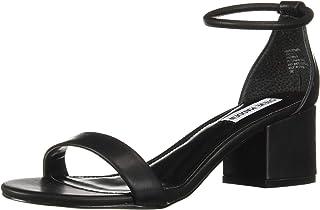 Steve Madden Women's Ibbie Heeled Sandal, black, 6.5 M US
