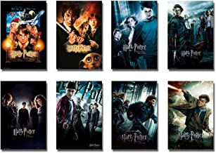 Harry Potter 1-8 - Movie Poster/Print Set (8 Individual Full Size Movie Posters - Version 2) (Size: 24