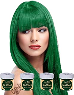 La Riche 4 X Directions Semi-Perm Hair Colour Apple Green (All Colours Avail) 4X 88ml