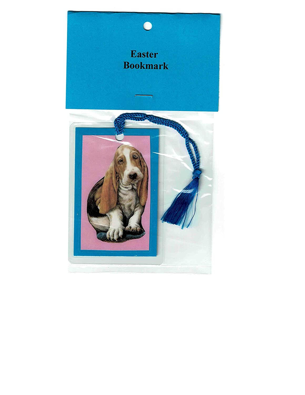 OFFer Basset Hound Dog Easter Greeting Many popular brands Card and Bookmark