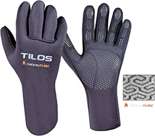 Tilos Thermoflare Eco Friendly Liner 3mm Dive Glove, Improves Warmth and Comfort