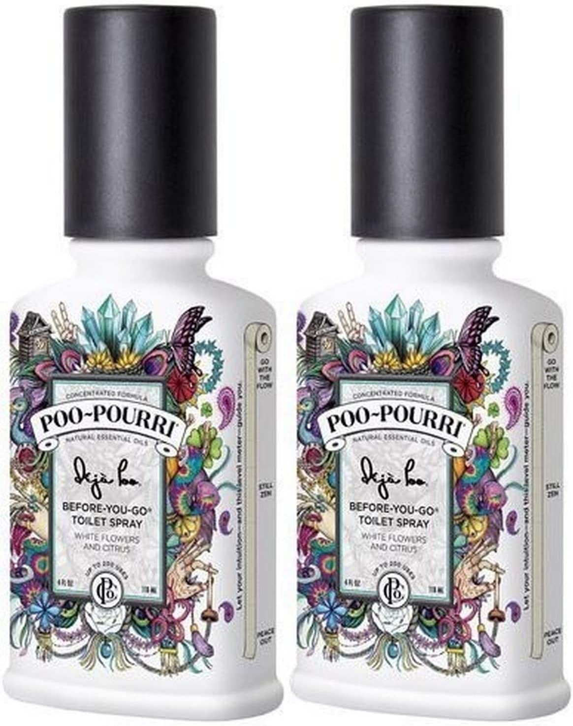 Poo-Pourri Dedication Deja Poo Before You security Go Count 2 Ounce 4 Spray Pack