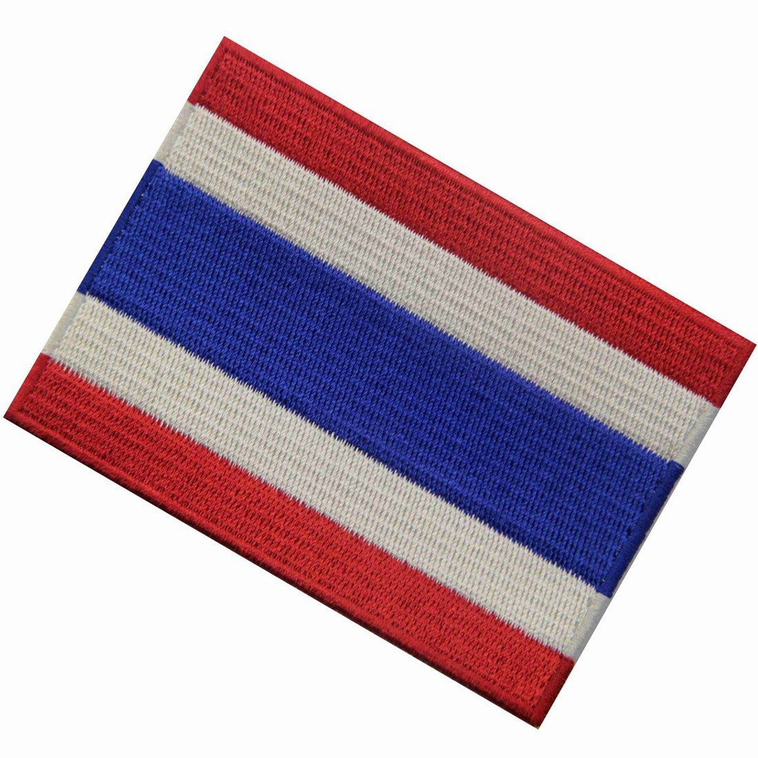 Bandera de Tailandia Tailandés Parche Bordado de Aplicación con Plancha: Amazon.es: Hogar