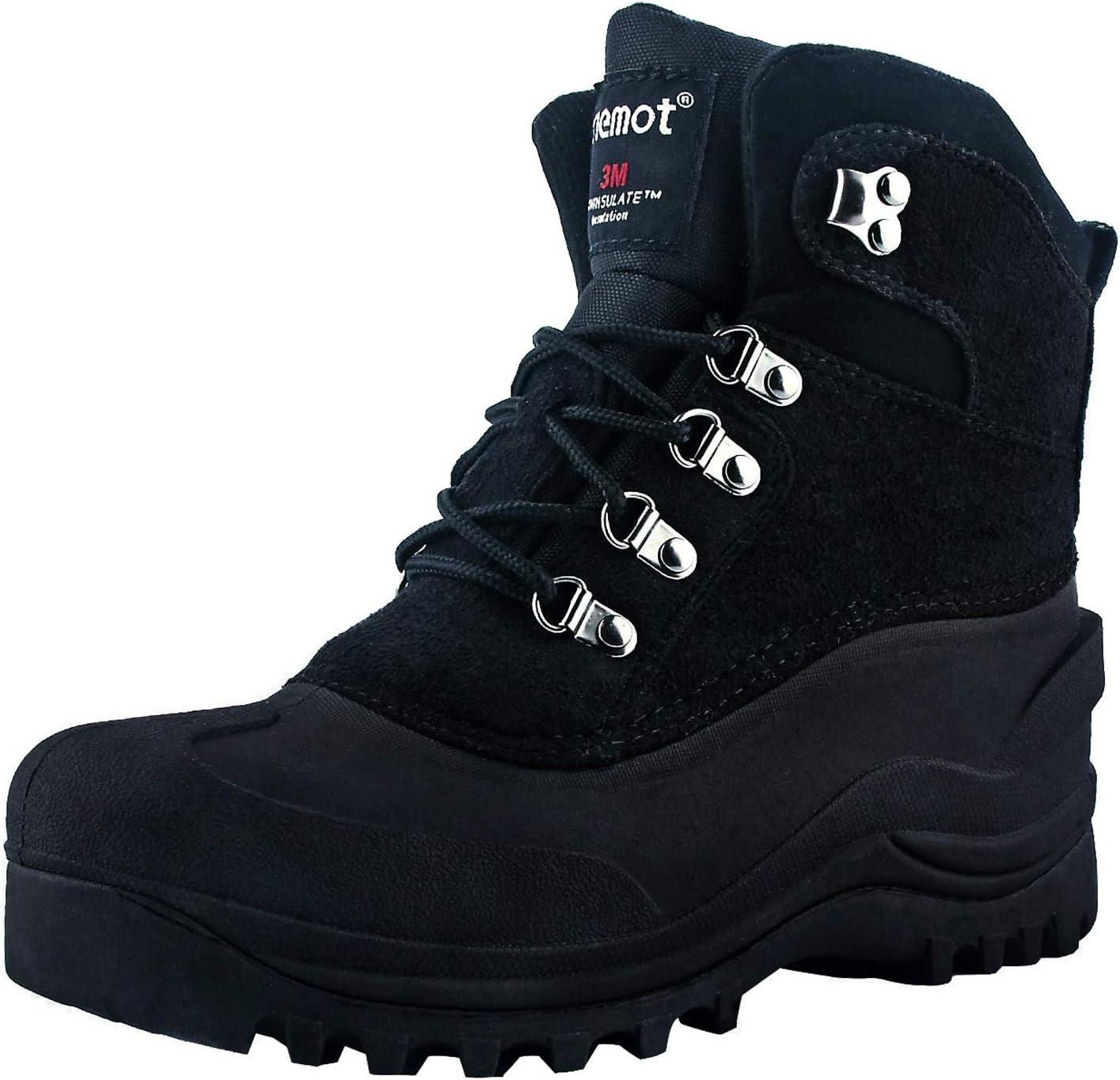 riemot 激安挑戦中 Men's Snow Boots Waterproof 即日出荷 Winter Hiking for Trek