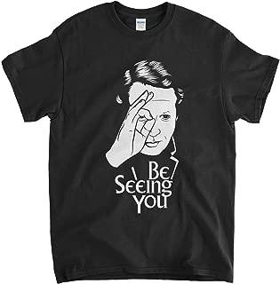 Old Skool Hooligans Tribute to The Prisoner T Shirt - Be Seeing You