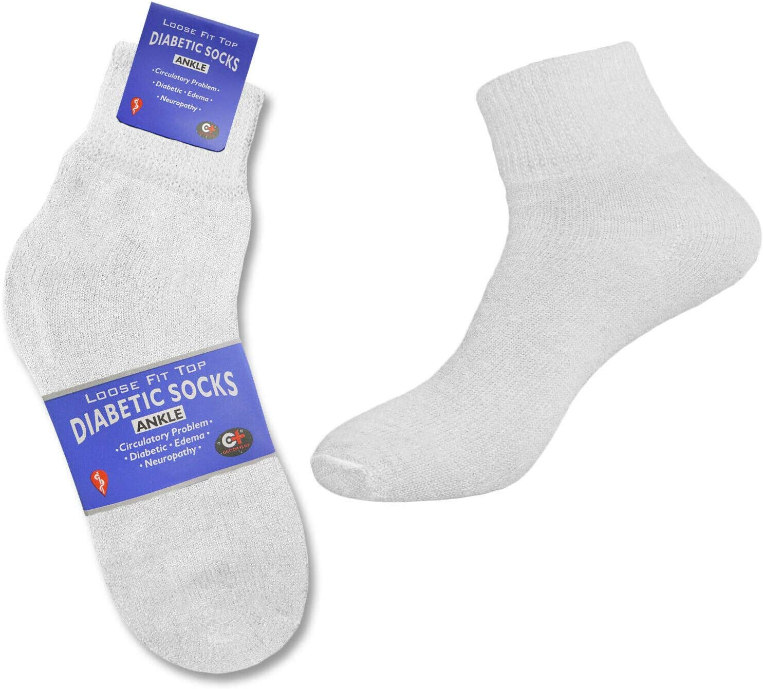 6 Pairs of Health Support Diabetic Opening large release sale Socks Circulatory Japan's largest assortment Ankle Non-