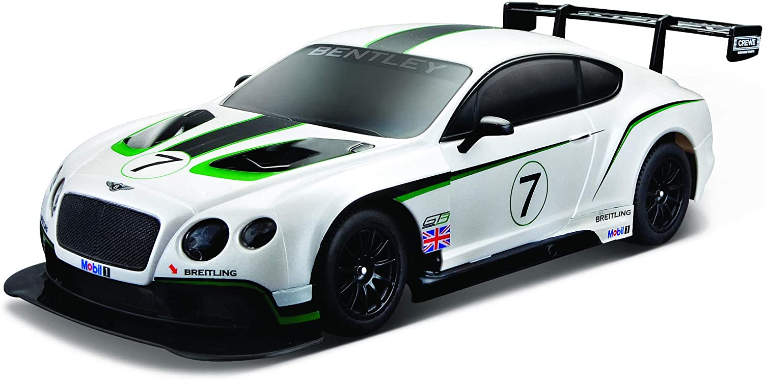 Maisto R C 1 24 Scale Bentley Continental GT3 Radio Control Vehicle (colors May Vary)