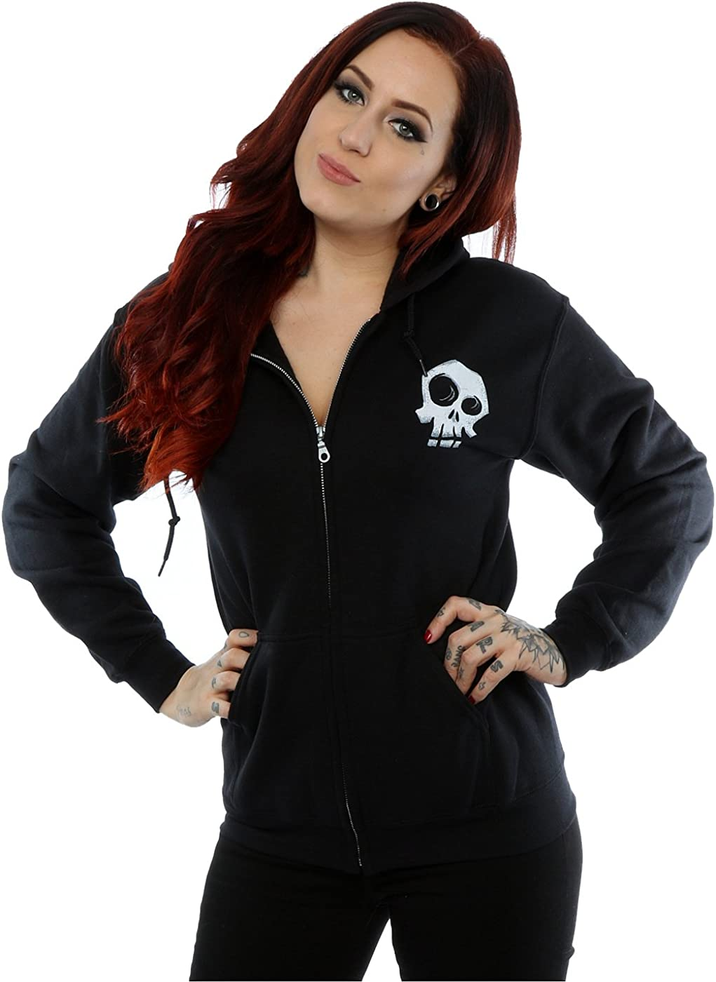 Disney Women's Nightmare Recommendation Before Christmas Hoo Love Zip Up Easy-to-use Misfit