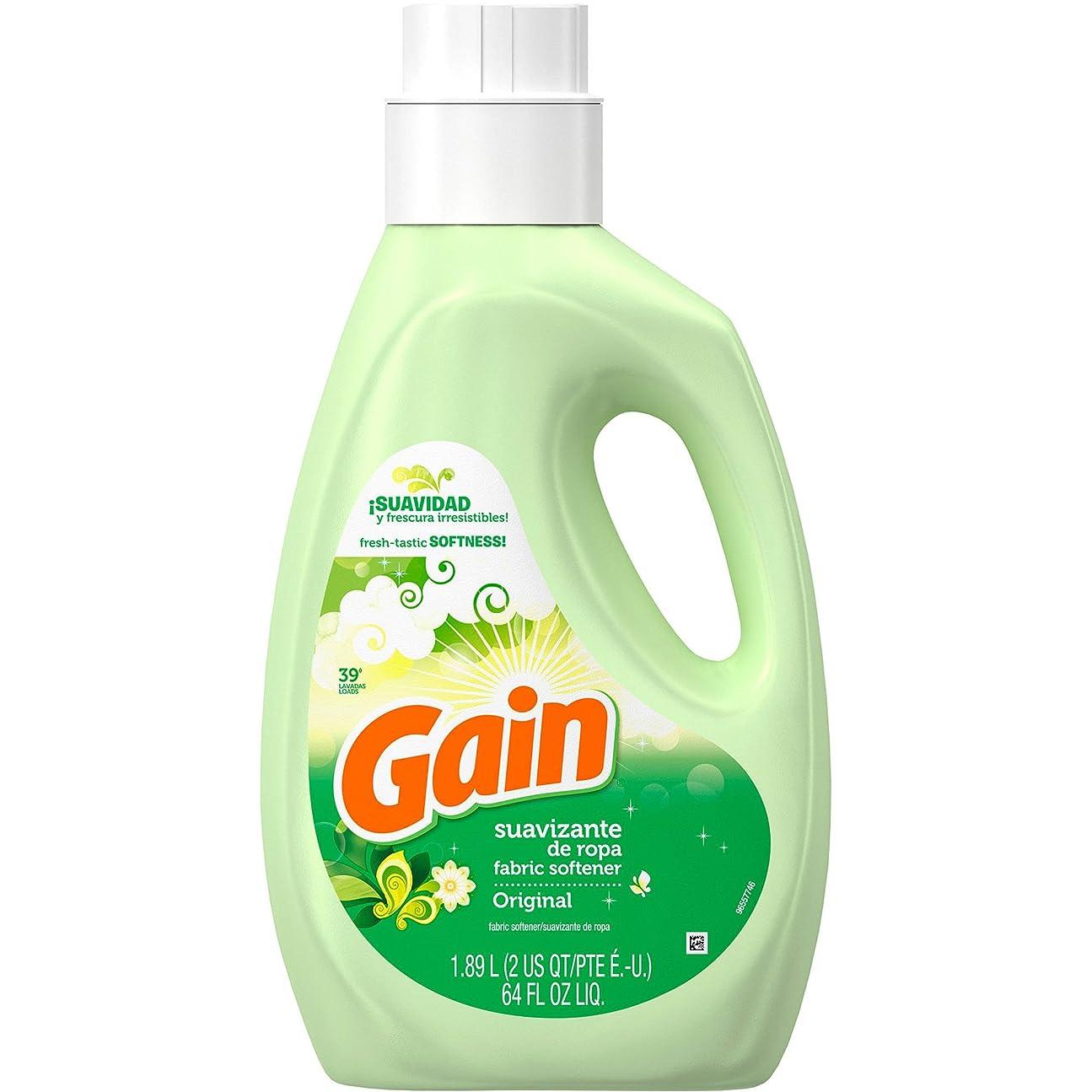 ロイヤリティ桃不振GAIN ゲイン柔軟剤オリジナル1.89L/64oz [並行輸入品]