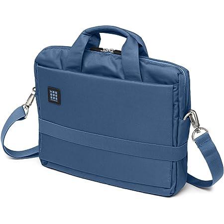Moleskine Et73dbh13b31 ID Collection Borsa a Tracolla Orizzontale Device Bag per Pc, Tablet, Notebook, Laptop e iPad fino a 13'', Dimensioni 35 x 9.5 x 27 cm, Colore Blu Boreale