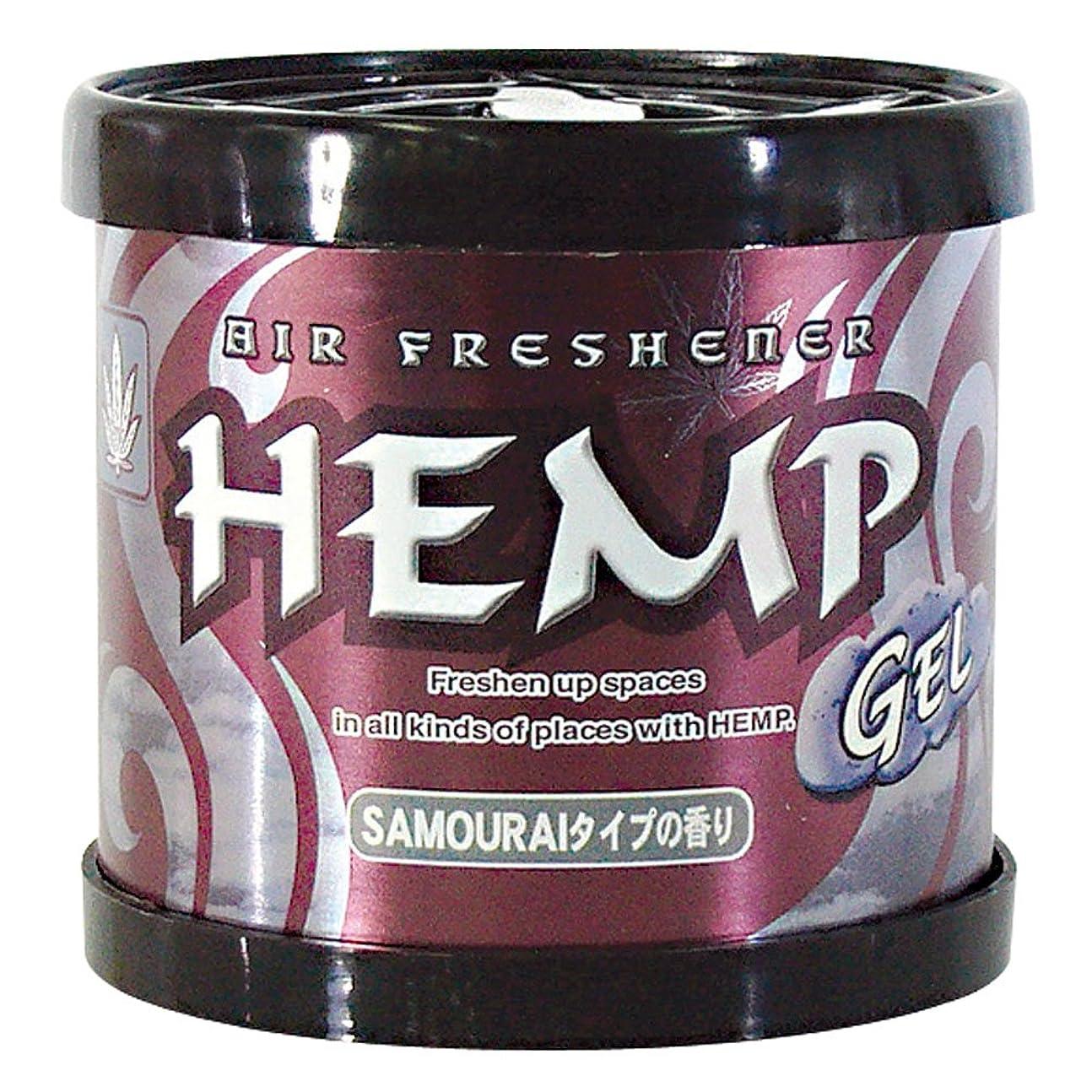 繁雑麻痺させる作りますHEMP フレグランスジェル サムライタイプの香り ペーパームーン 80g OA-HEG-1-10