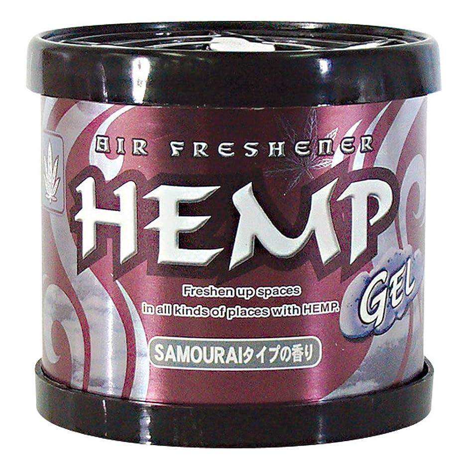 サスティーン敵意断言するHEMP フレグランスジェル サムライタイプの香り ペーパームーン 80g OA-HEG-1-10