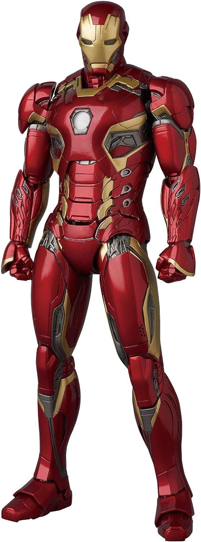 MAFEX Mafekkusu IRON MAN MARK45 Iron Man Mark 45 AVENGERS AGE OF ULTRON nicht massstabsgetreue ABS & amp; ATBCPVC gemalt Actionfigur