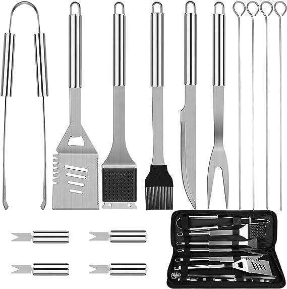 Anpro Grilling Accessories BBQ Tools Set