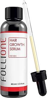 Tratamiento para la pérdida de pelo | Serum de crecimiento del cabello para hombres dermatológicamente testado| Desarrollado como una alternativa al Minoxidil | Suministro para 1 mes.