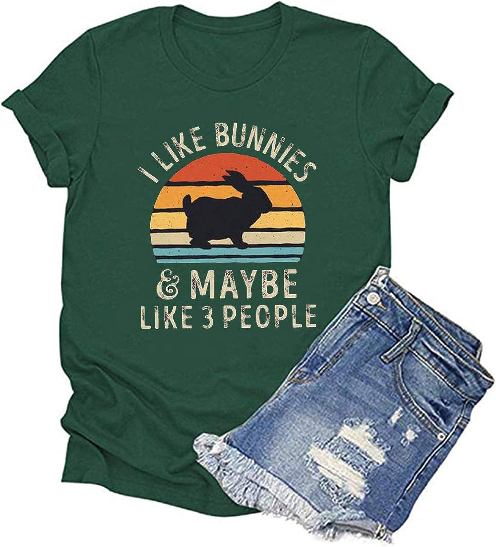 AODONG Tshirts for Women's Graphic,Women's Fashion Printed T Shirt Casual Fun Graphic Short Sleeve Tee Top Blouse