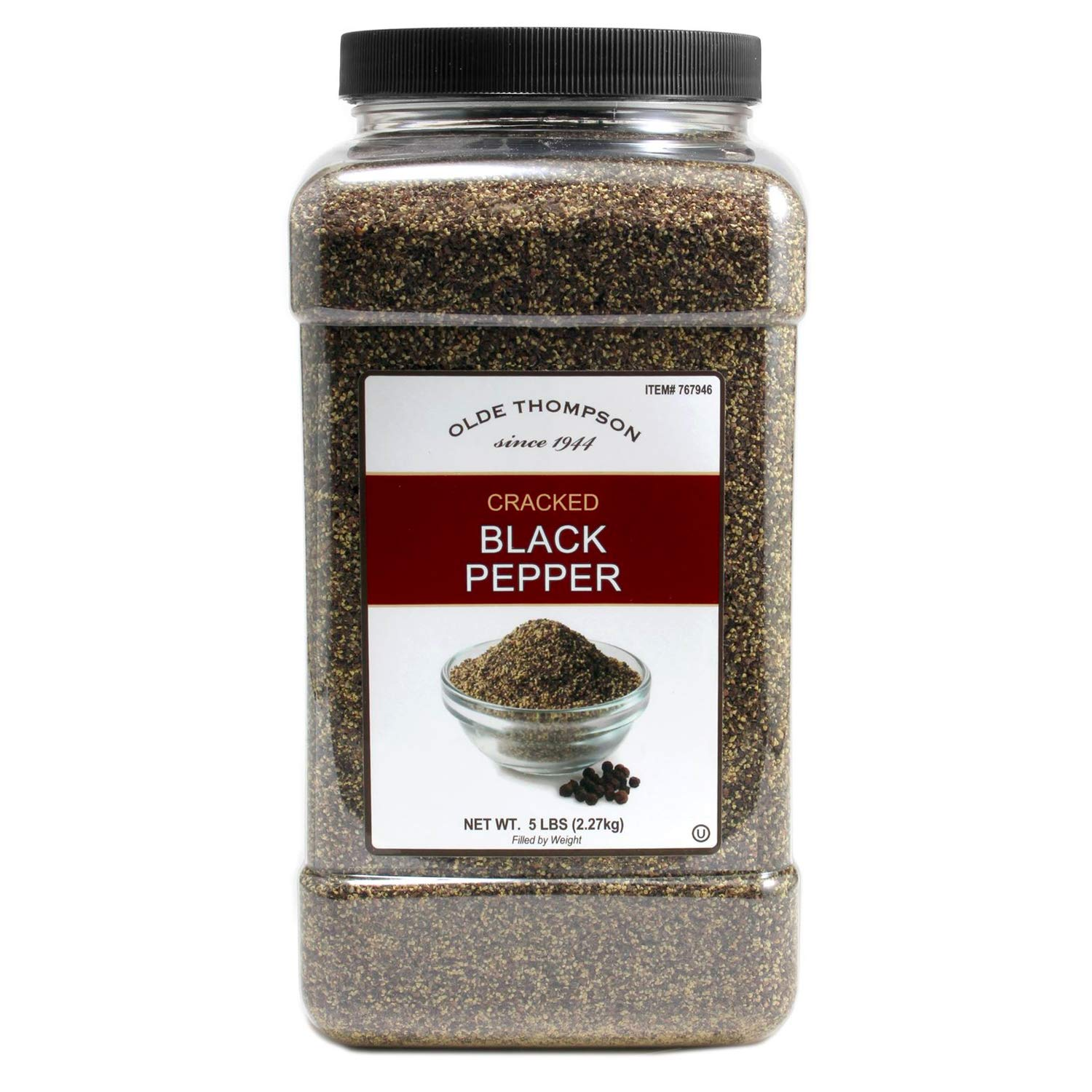 Olde Thompson Free Shipping New Cracked Black Max 86% OFF Pepper 5lbs - Kitch have Bulk Must