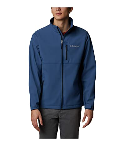 Columbia Ascendertm Softshell Jacket (Night Tide/Collegiate Navy Zips) Men