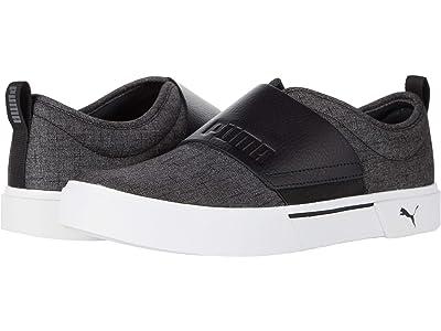 PUMA El Rey II Slip-On (Puma Black/Castlerock) Shoes