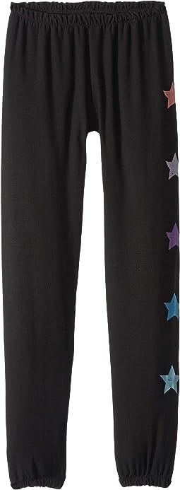 Extra Soft Side Stars Pants (Big Kids)