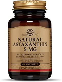Solgar Natural Astaxanthin 5 mg Softgels - 60 Count