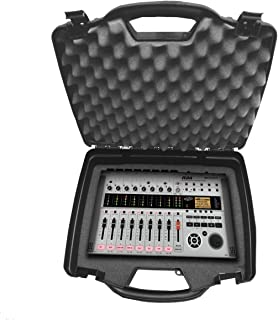 STUDIOCASE Portable MultiTrack Recorder Controller and Digital Stereo Interface Case works for- ZOOM R16 , R8 , R24 , TAC-2 , Tac-2R , MRS-8 and More