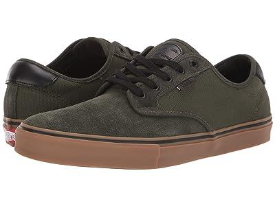 Vans Chima Ferguson Pro ((Rainy Day) Forest Night/Gum) Skate Shoes