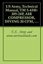 US Army, Technical Manual, TM 5-4310-389-24P, AIR COMPRESSOR, DIVING 20 CFM, MOD K-20, 5,000 PSI, (NSN 4310-01-291-8028), military manauals, special forces