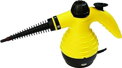 AGM Pistola Vapor vaporizador de Limpieza vaporeta portatil mas Accesorios Multiples, Yellow, 1