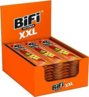 BiFi Original XXL – 30er Pack 30 x 40g – Herzhafter Salami Fleischsnack – Geräucherte Wurst als Snack to go