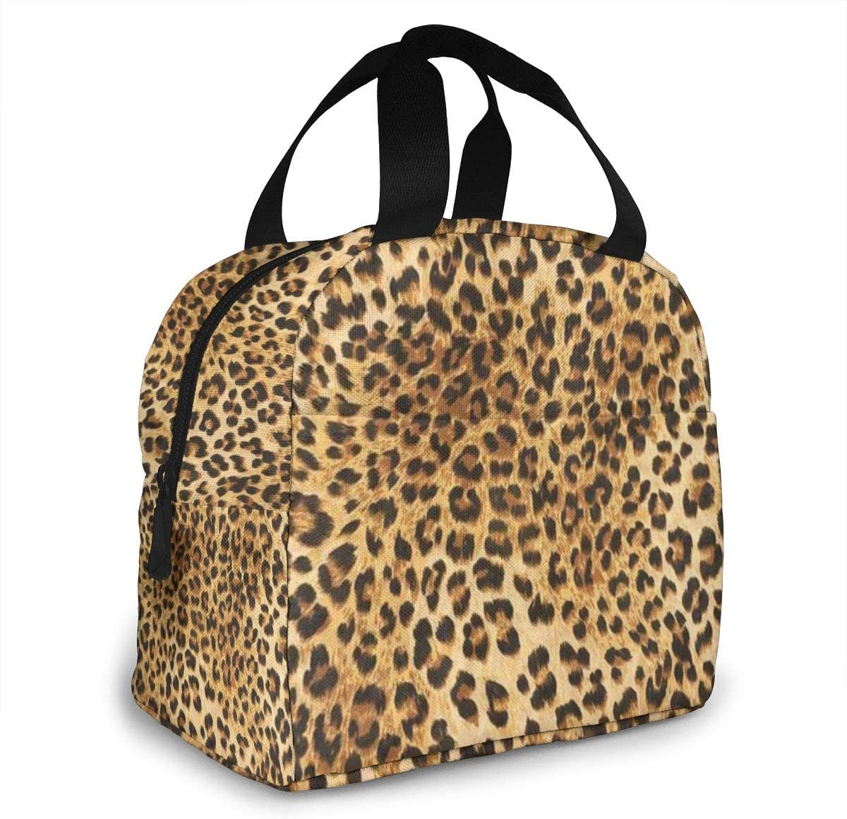 Portable Lunch Tote 70% OFF Outlet Max 49% OFF Bag Leopard Skins Wild Colorful Animal Print