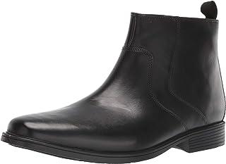 Clarks Tilden Zip II حذاء برقبة للرجال مقاوم للماء