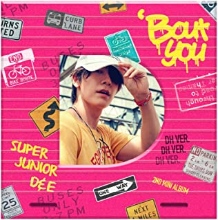 SM Entertainment SUPER JUNIOR-D&E - Bout You (2nd Mini Album) [DONGHAE ver.] CD+Photobook+Folded Poster