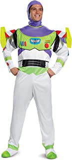 Disney Disguise Toy Story Men's Buzz Lightyear Deluxe Adult