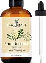 Handcraft Frankincense Essential Oil - 100 Percent Pure and Natural - Premium Therapeutic Grade with Premium Glass Dropper - Huge 4 oz